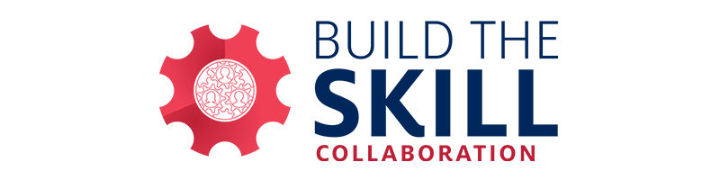 build the skill collaboration graphic element