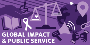 social impact and public service career cluster card