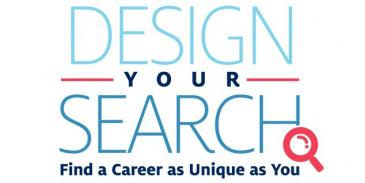 design your search find a career as unique as you graphic element