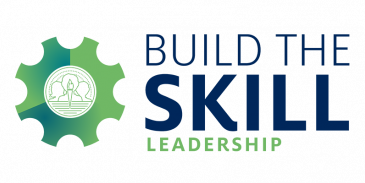 build the skill leadership graphic element