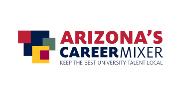 arizona's career mixer graphic element